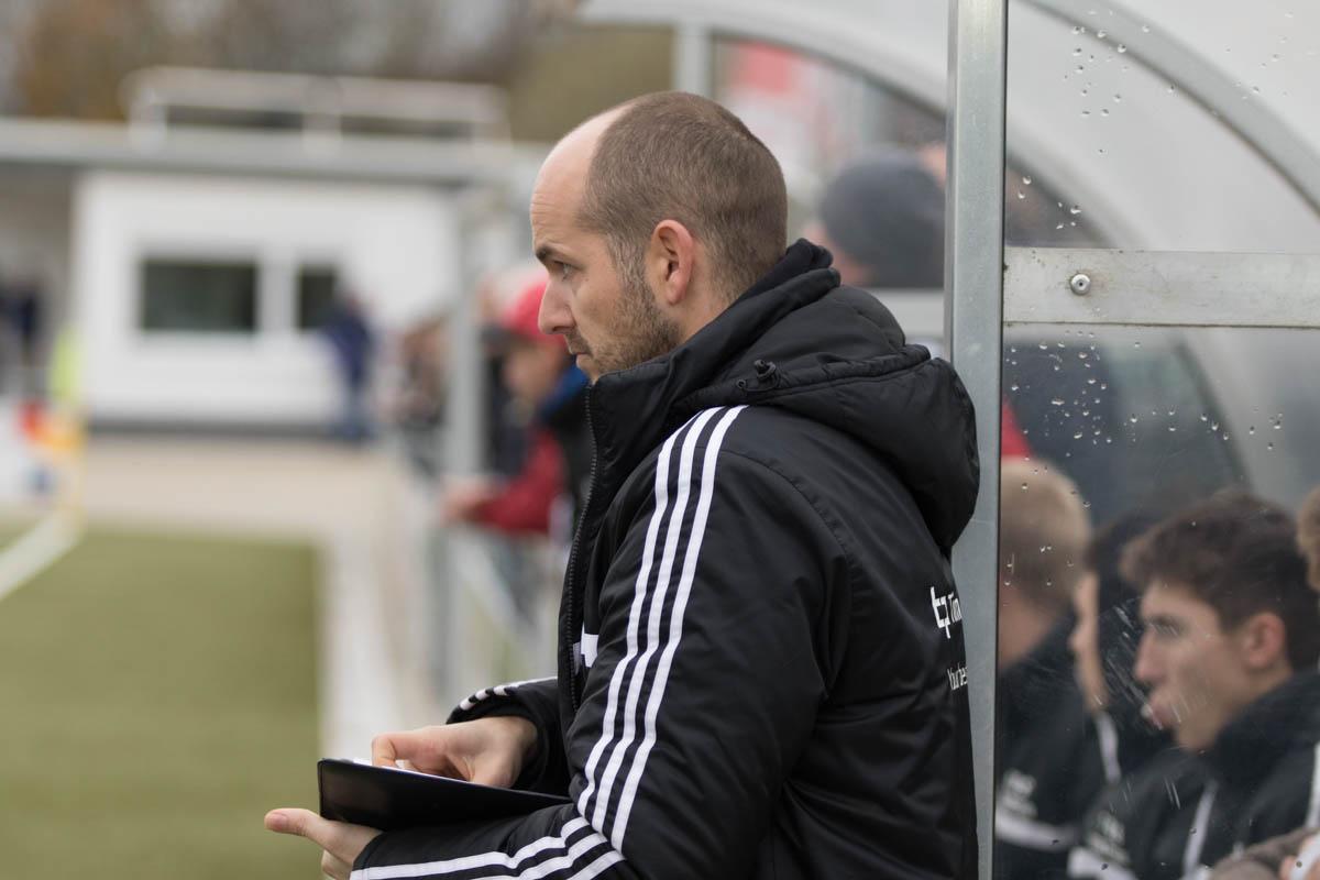 Dietkirchens Trainer Florian Demewolf (Foto: Michael Hahn)