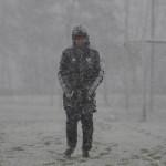 Betreuer Buchenau im Schnee (Foto: Michael Hahn)