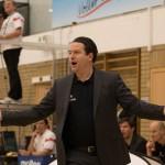 Deutschlands Trainer Bastian Wernthaler im 1. Viertel(Foto: Michael Hahn)