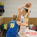 Svenja Greuneke (DEU, re) gegen Ganna Zarytska (UKR)(Foto: Michael Hahn)