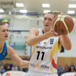 Katharina Faikiel (DEU, re) vor Valeriya Berezhynska (UKR)(Foto: Michael Hahn)