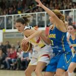 Sonja Grainacher (DU, li) gegen Olesia Malashenko (UKR)(Foto: Michael Hahn)